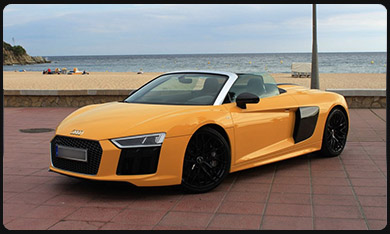 rent R8 Spyder  International-Film-Festival-cannes