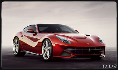 F12 Berlineta car rental Rome