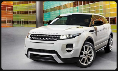 Evoque car rental Rome