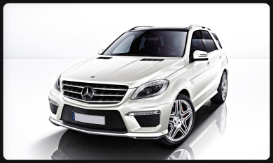 rent ML63 AMG  Cannes