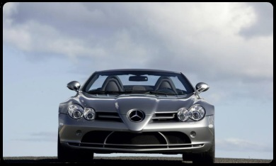 SLR roadster for rent Cannes