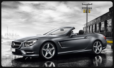 rent SL500  Nice-airport