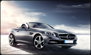 SLK350 for rent Cannes